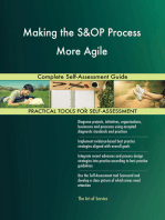 Making the S&OP Process More Agile Complete Self-Assessment Guide