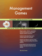 Management Games Complete Self-Assessment Guide