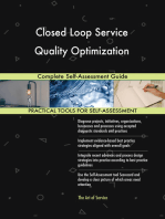 Closed Loop Service Quality Optimization Complete Self-Assessment Guide