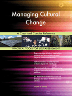 Managing Cultural Change A Clear and Concise Reference