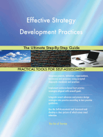 Effective Strategy Development Practices The Ultimate Step-By-Step Guide