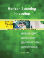 Horizon Scanning Innovation A Complete Guide