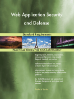 Web Application Security and Defense Standard Requirements