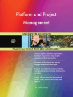 Platform and Project Management Standard Requirements