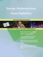 Storage Hardware Array-Based Replication Standard Requirements