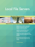 Local File Servers Standard Requirements