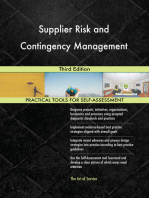 Supplier Risk and Contingency Management Third Edition