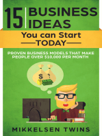 15 Business Ideas You can Start TODAY