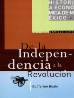 De la Independencia a la Revolución