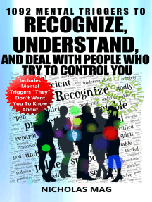 1092 Mental Triggers to Recognize, Understand, and Deal With People Who Try to Control You