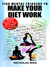 1766 Mental Triggers to Make Your Diet Work