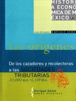 Los orígenes: De los cazadores y recolectoras a las sociedades tributarias, 22,000 a. C.-1519 d. C.