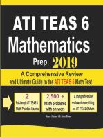 ATI TEAS 6 Mathematics Prep 2019