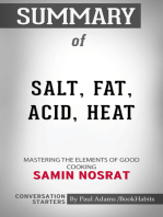 Summary of Salt, Fat, Acid, Heat
