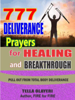 777 Deliverance Prayers for Healing and Breakthrough