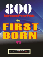 800 Deliverance Prayer Points for First Born