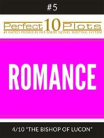 """Perfect 10 Romance Plots #5-4 """"THE BISHOP OF LUCON"""""""