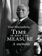 Time is Not the Measure: A memoir
