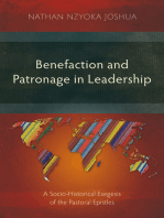 Benefaction and Patronage in Leadership