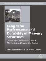 Long-term Performance and Durability of Masonry Structures: Degradation Mechanisms, Health Monitoring and Service Life Design