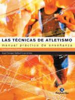 Las técnicas de atletismo