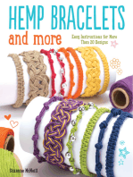 Hemp Bracelets and More