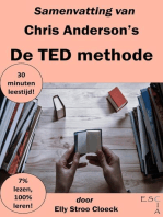 Samenvatting van Chris Anderson's De TED Methode