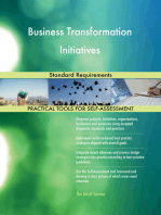 Business Transformation Initiatives Standard Requirements