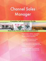 Channel Sales Manager Complete Self-Assessment Guide