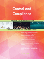 Control and Compliance Complete Self-Assessment Guide