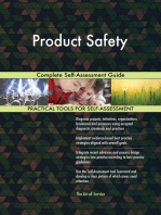 Product Safety Complete Self-Assessment Guide