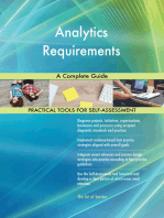 Analytics Requirements A Complete Guide