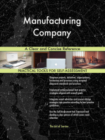 Manufacturing Company A Clear and Concise Reference
