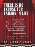 There is no excuse for failing in life: