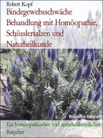 Bindegewebsschwäche - Behandlung mit Homöopathie, Schüsslersalzen (Biochemie) und Naturheilkunde
