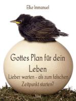 Gottes Plan für dein Leben
