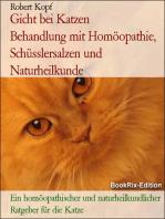Gicht bei Katzen - Harnsäure behandeln mit Homöopathie, Schüsslersalzen (Biochemie) und Naturheilkunde