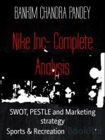 Nike Inc- Complete Analysis: SWOT, PESTLE and Marketing strategy
