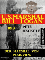 Der Marshal von Plainview (U.S. Marshal Bill Logan Band 93)