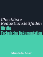 Checkliste Redaktionsleitfaden