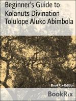 Beginner's Guide to Kolanuts Divination