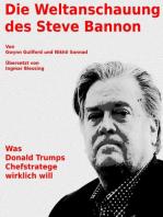Die Weltanschauung des Steve Bannon