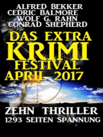Das Extra Krimi Festival April 2017