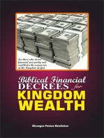 BIBLICAL FINANCIAL DECREES FOR KINGDOM WEALTH