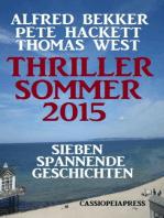Thriller Sommer 2015
