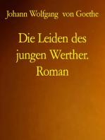 Die Leiden des jungen Werther. Roman