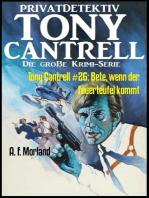 Tony Cantrell #26