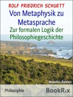 Von Metaphysik zu Metasprache