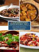 25 Slow-Cooker-Friendly Recipes with Meat - Part 2: From delicious Wraps and Soups to tasty Salads and Stews - measurements in grams