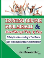 Trusting God for your Miracle and Breakthrough Day by Day: